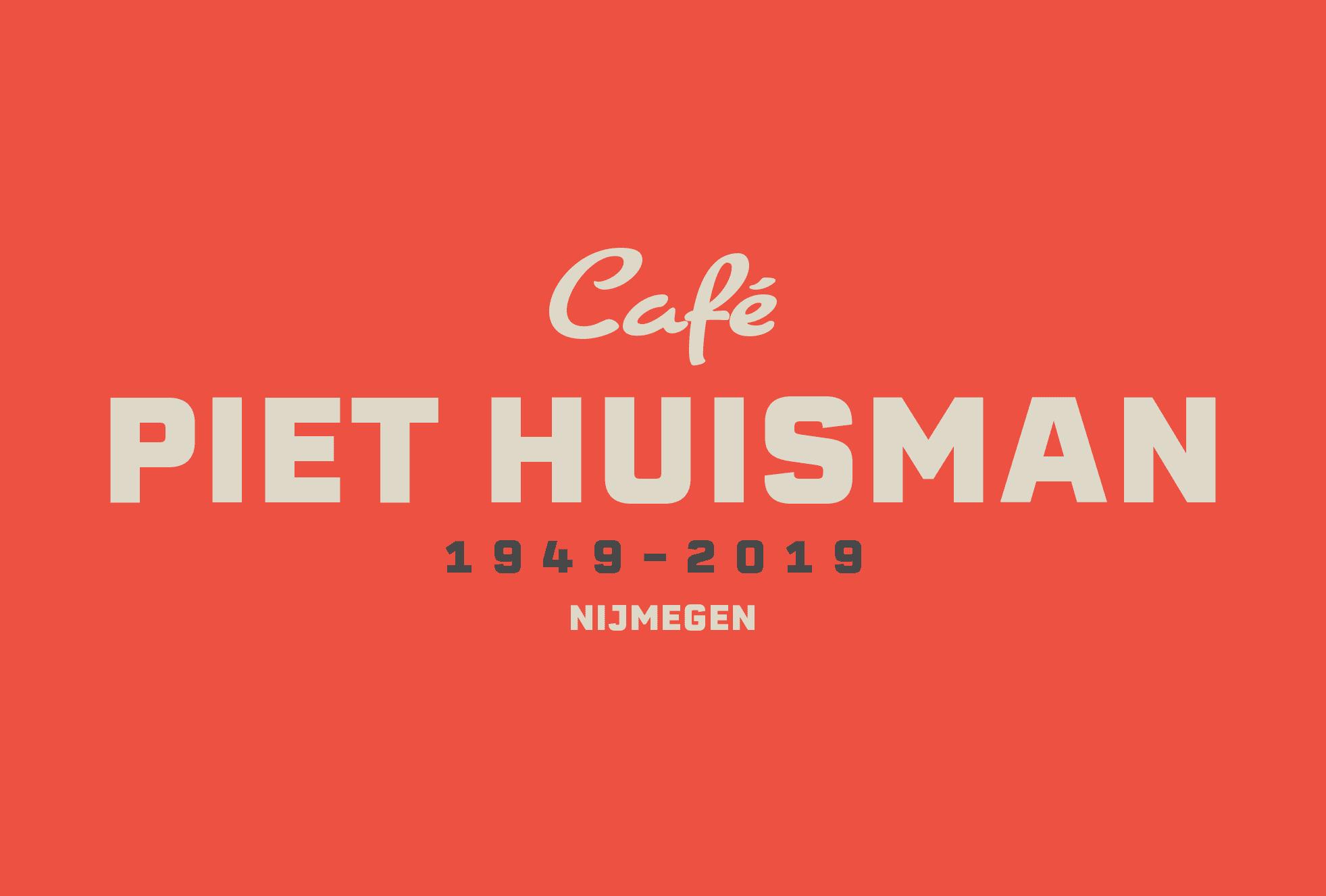 Café Piet Huisman - Logo