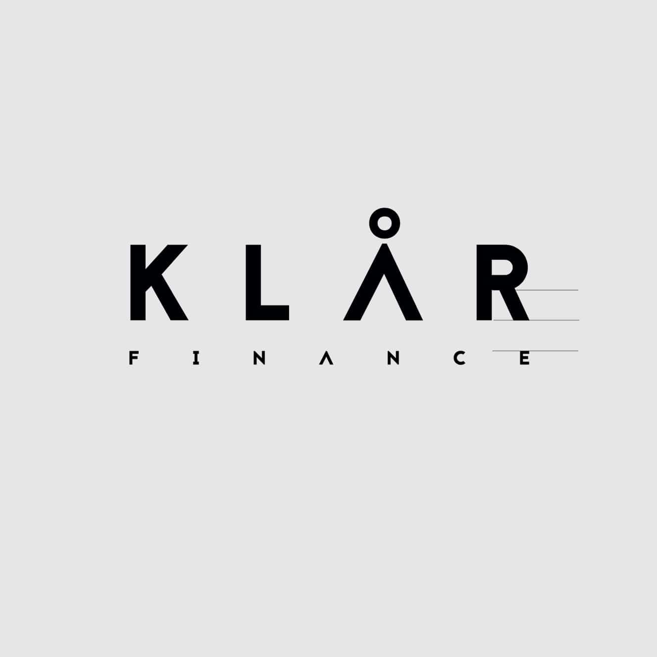 Klår Finance - Logo onderschrift