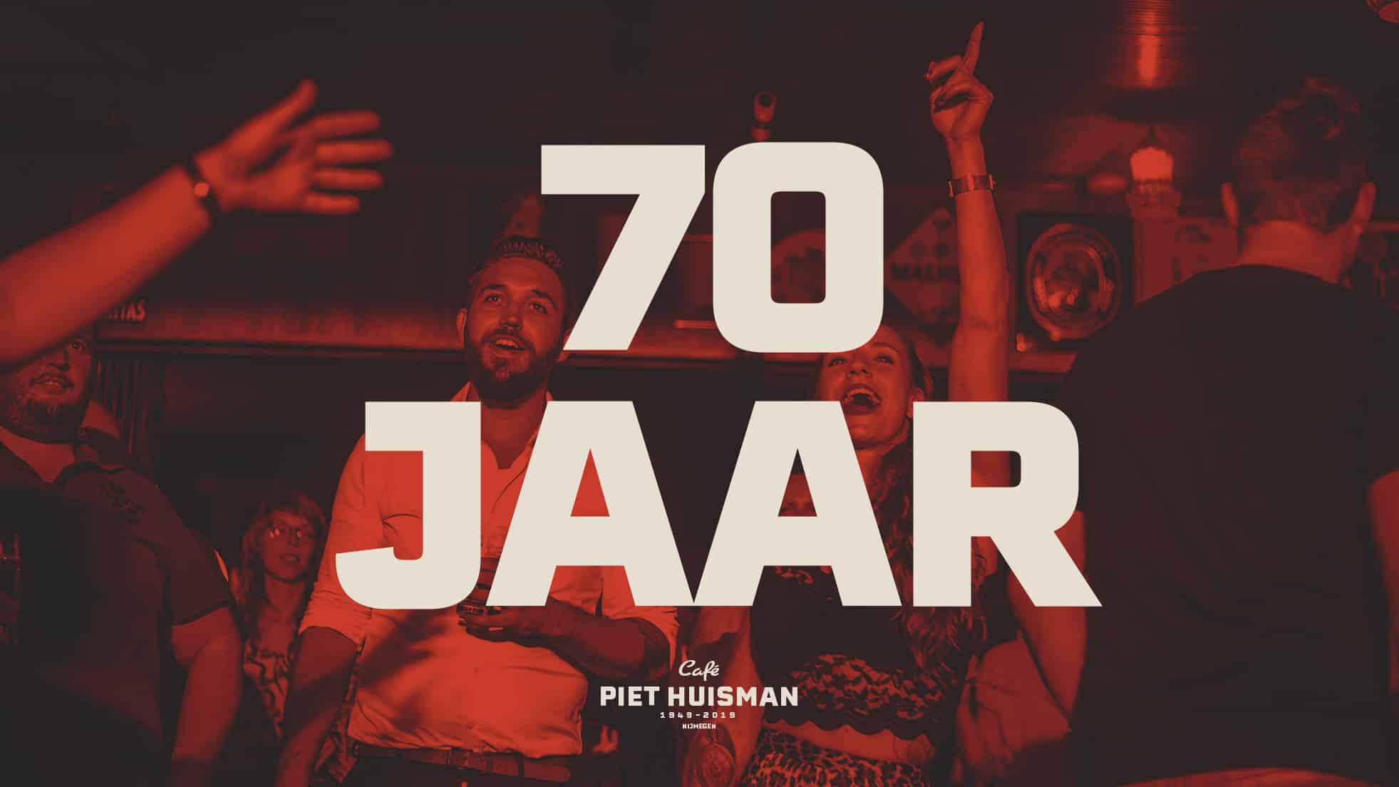 Piet Huisman - 70 jaar