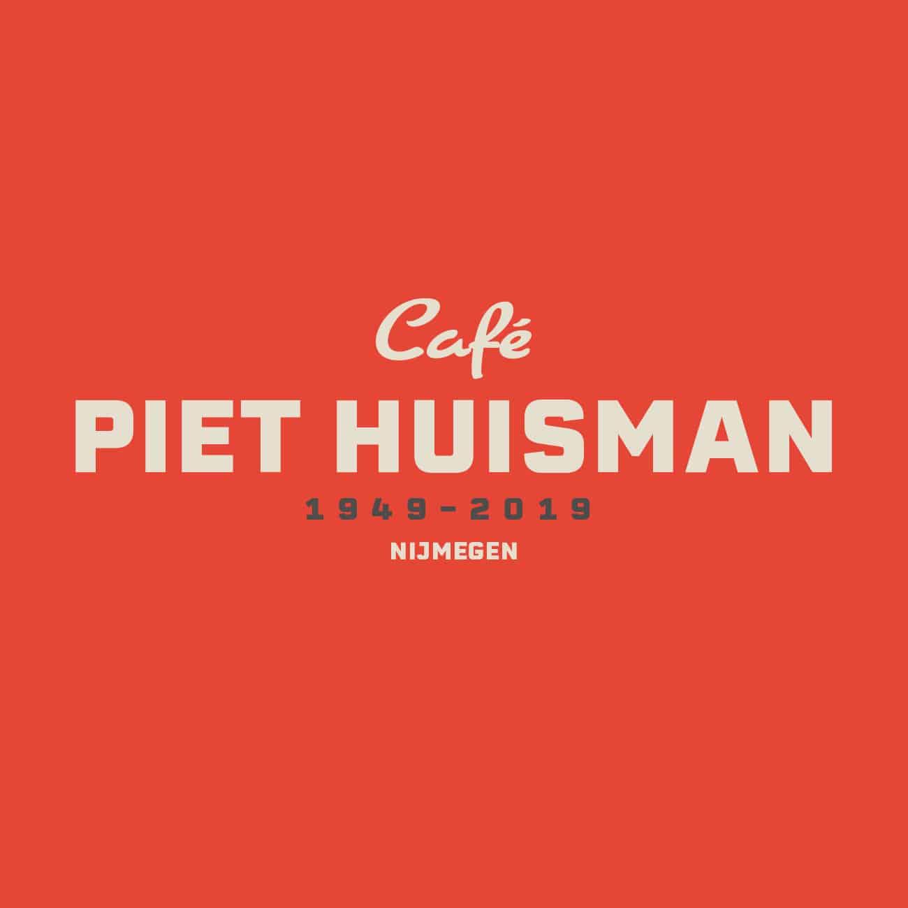 Piet Huisman - Logo vierkant