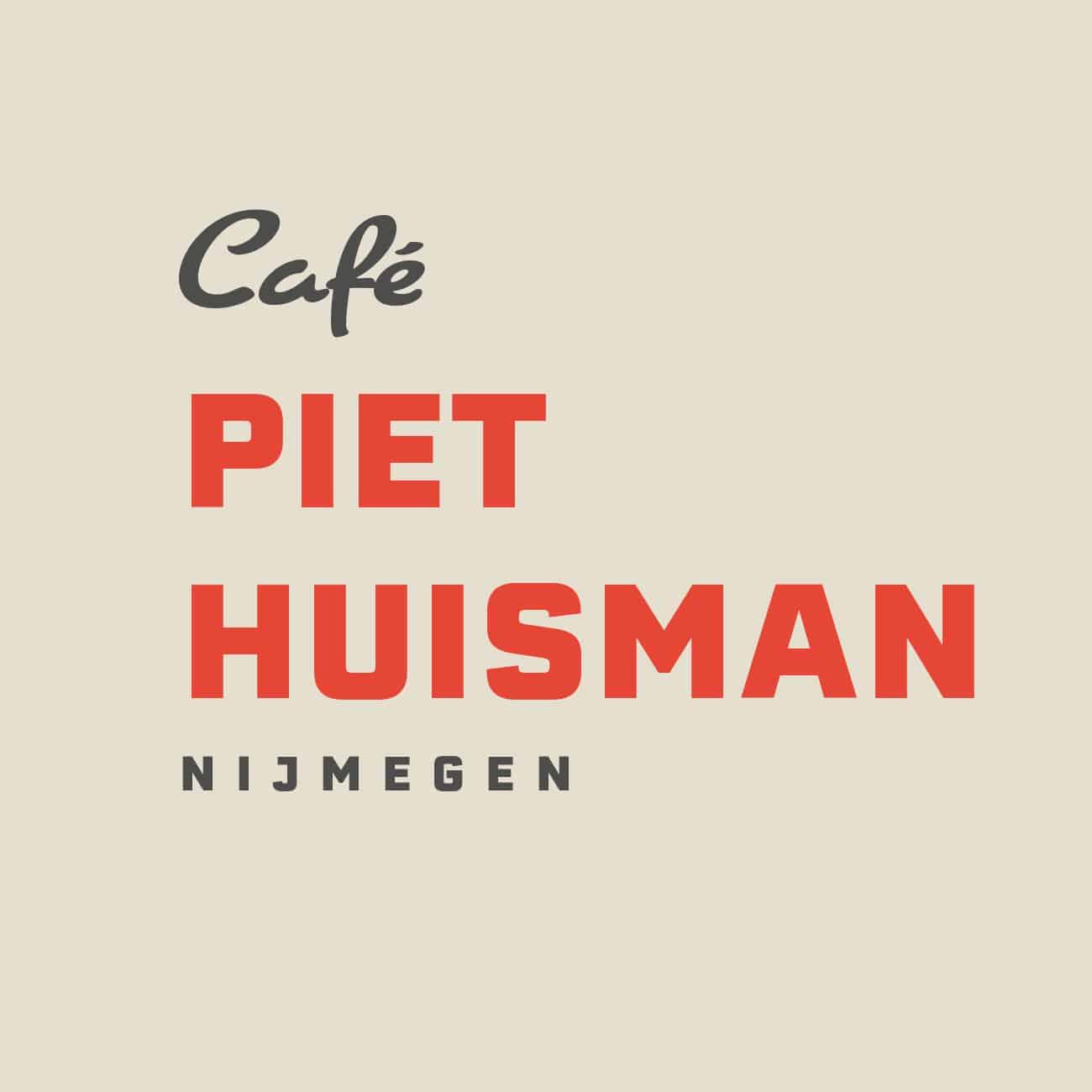 Piet Huisman - Alternatief logo