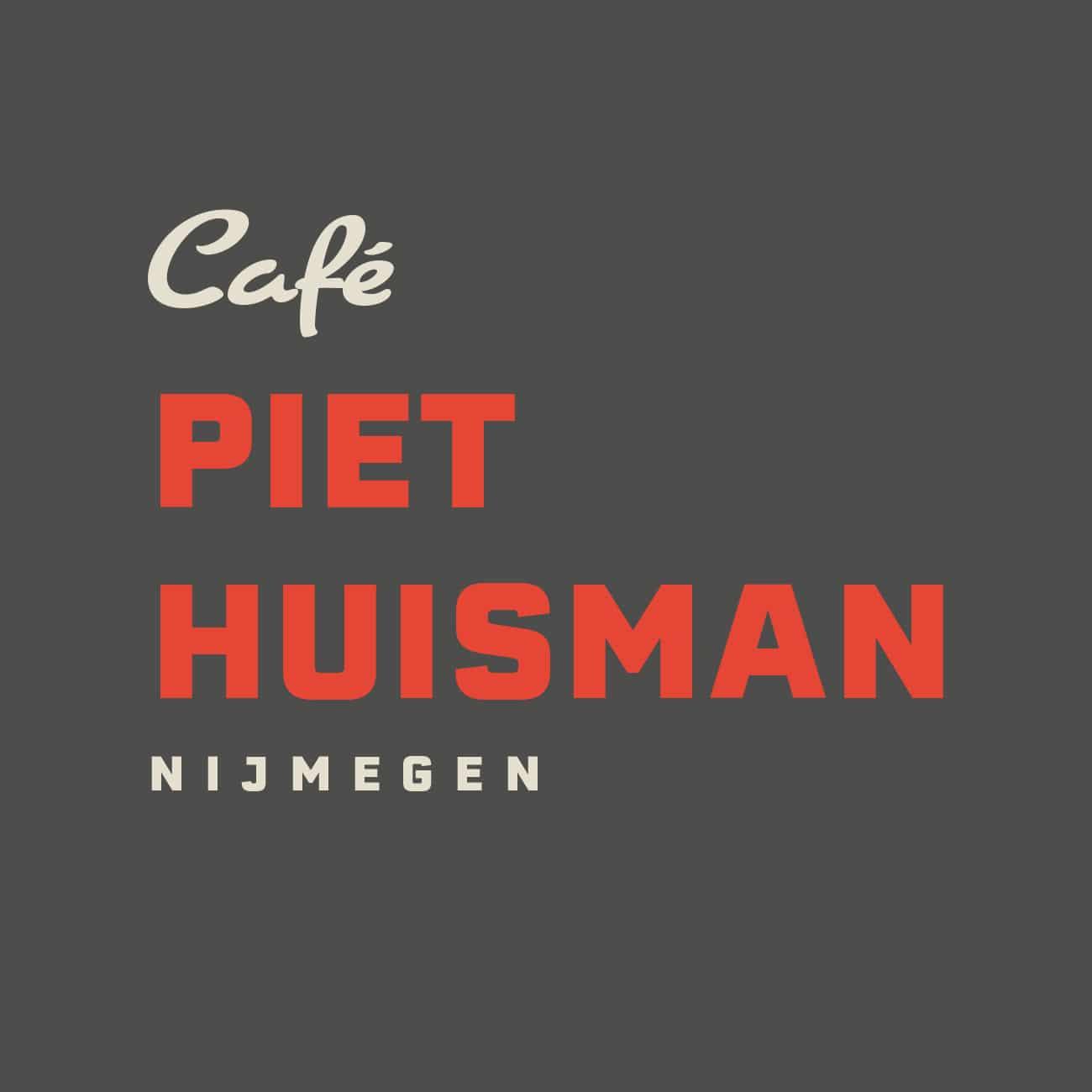 Piet Huisman - Alternatief logo twee